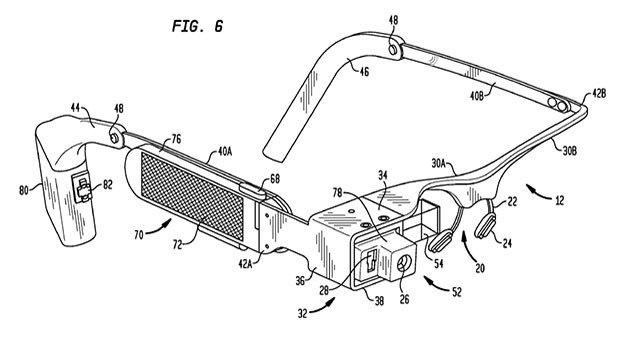 google glass video dettagli tecnici