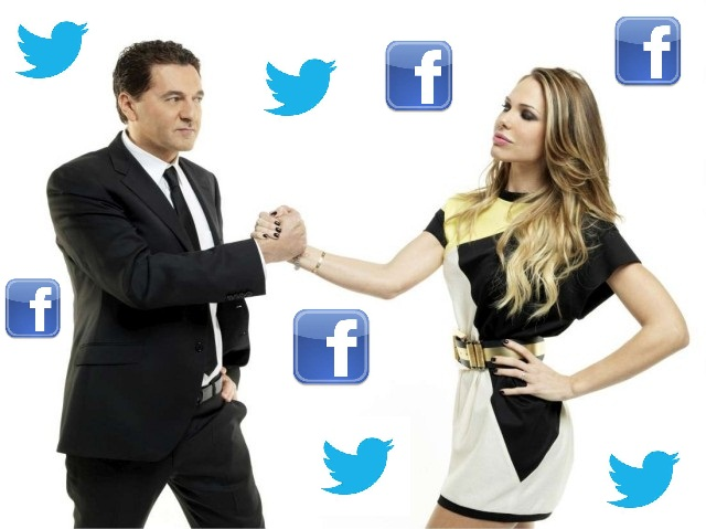 le iene facebook twitter social tv trasmissioni social